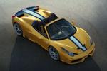 Ferrari 458 Gama 458 Speciale A Gama 458 Speciale A Descapotable Amarillo librea Exterior Lateral-Frontal-Cenital 2 puertas