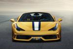 Ferrari 458 Gama 458 Speciale A Gama 458 Speciale A Descapotable Amarillo librea Exterior Frontal 2 puertas