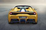 Ferrari 458 Gama 458 Speciale A Gama 458 Speciale A Descapotable Amarillo librea Exterior Posterior 2 puertas