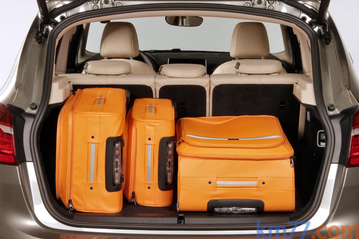 BMW Serie 2 Active Tourer 218d Luxury Monovolumen Interior Maletero 5 ...