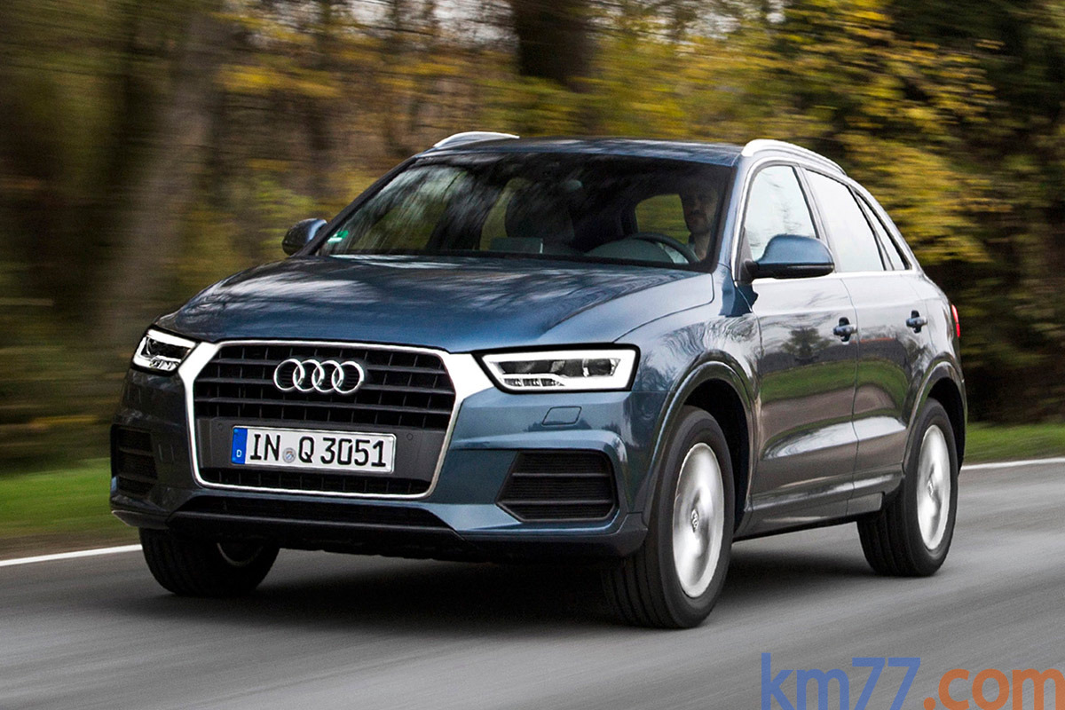 Car Picker Blue Audi Q3
