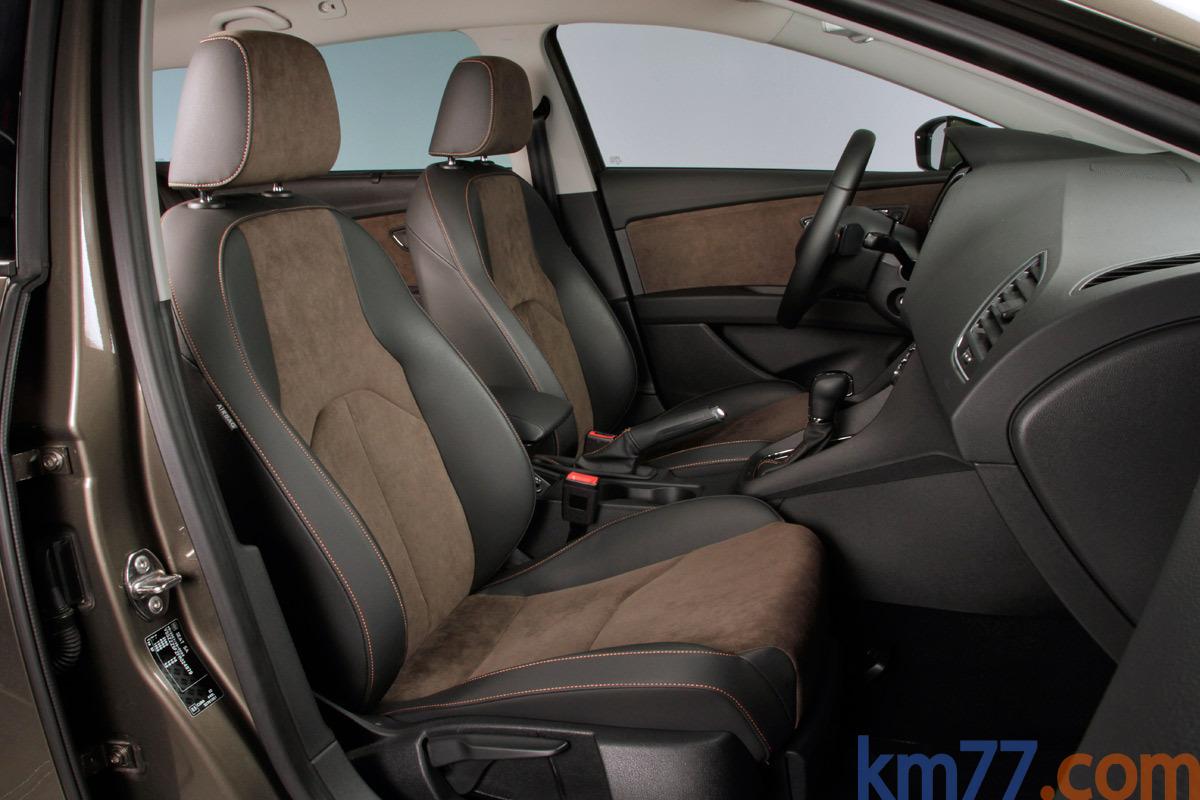 SEAT León TDI 4Drive X-PERIENCE Turismo familiar Marrón Adventure Interior Asientos 5 puertas