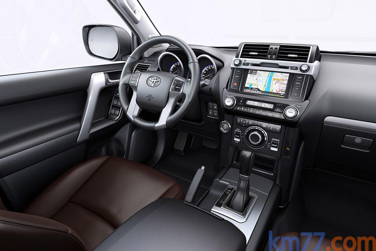 Toyota Land Cruiser 2016 Interior Autocarwall