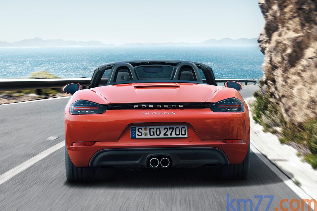 Porsche 718 Cayman/Boxster (2016) 10