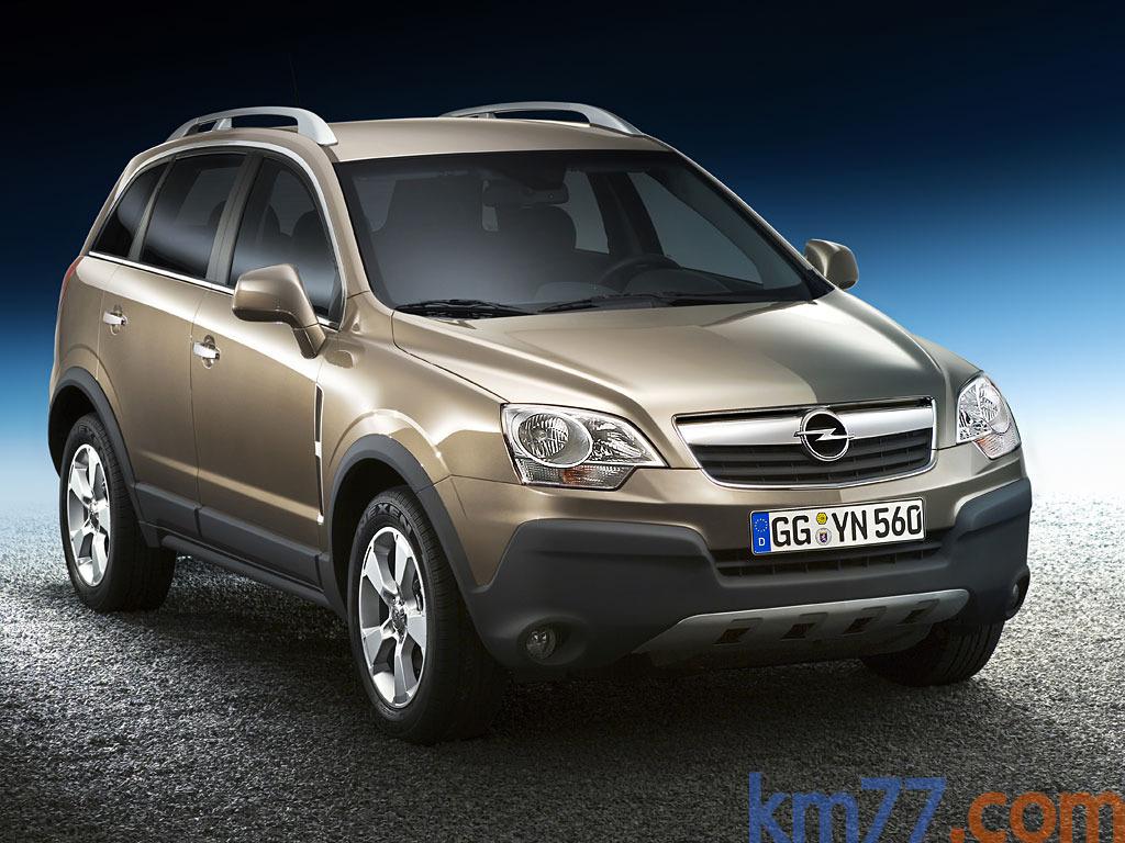Opel Antara (2007) | Información general - km77.com