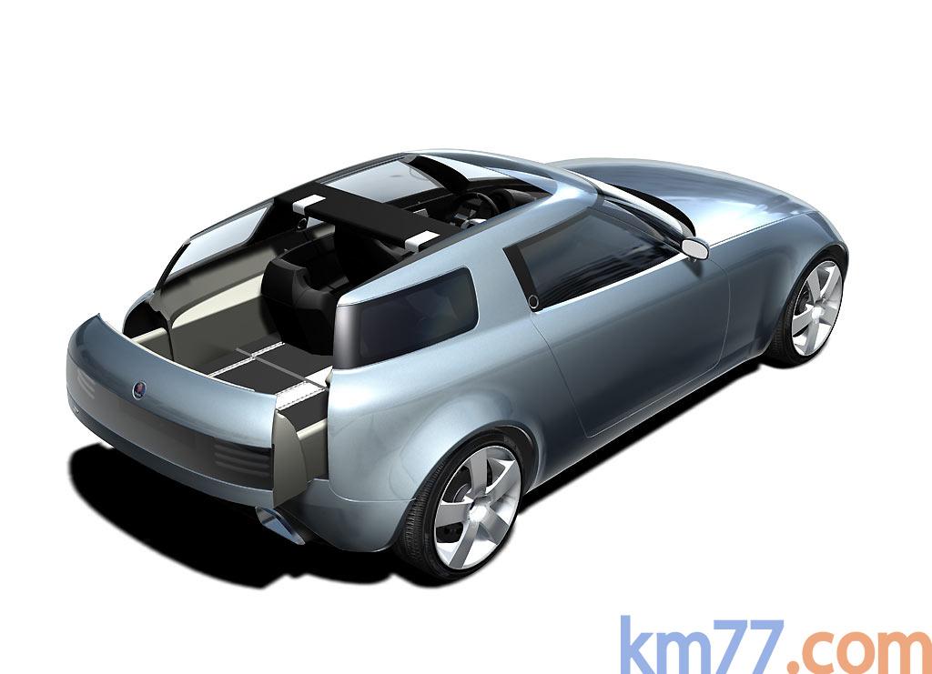 Saab 9x Concept Car 2001 Informacin General Km77