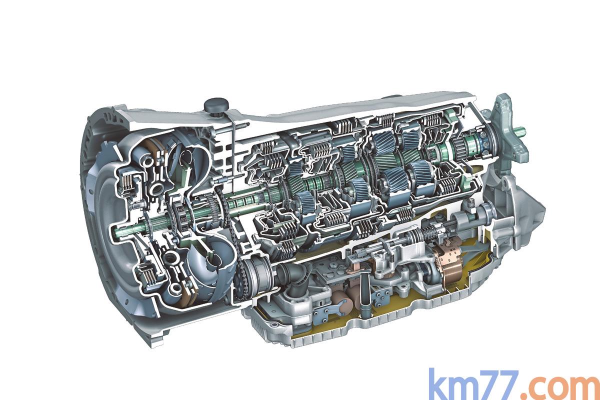 Cambio Mercedes-Benz 9G-TRONIC (2013) | Información técnica