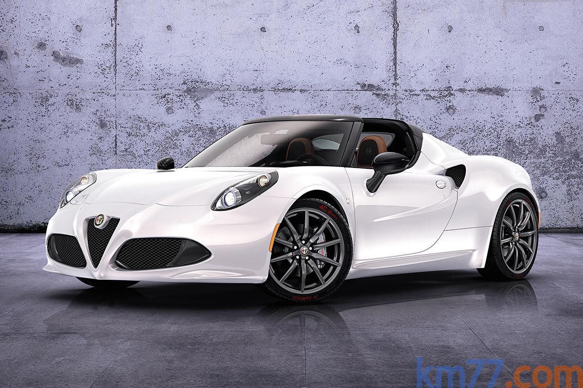 Alfa Romeo 4C Spider concept (2014) | Información general