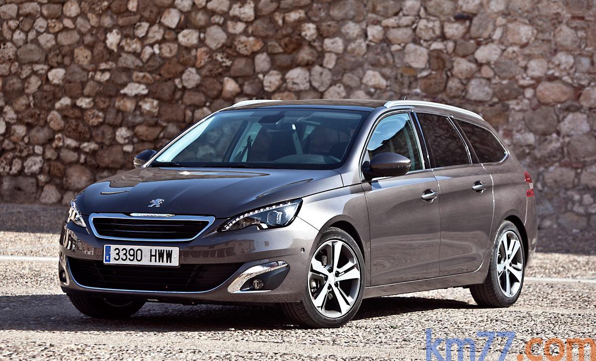 Peugeot 308 Sw 2014 Informacion General Km77 Com