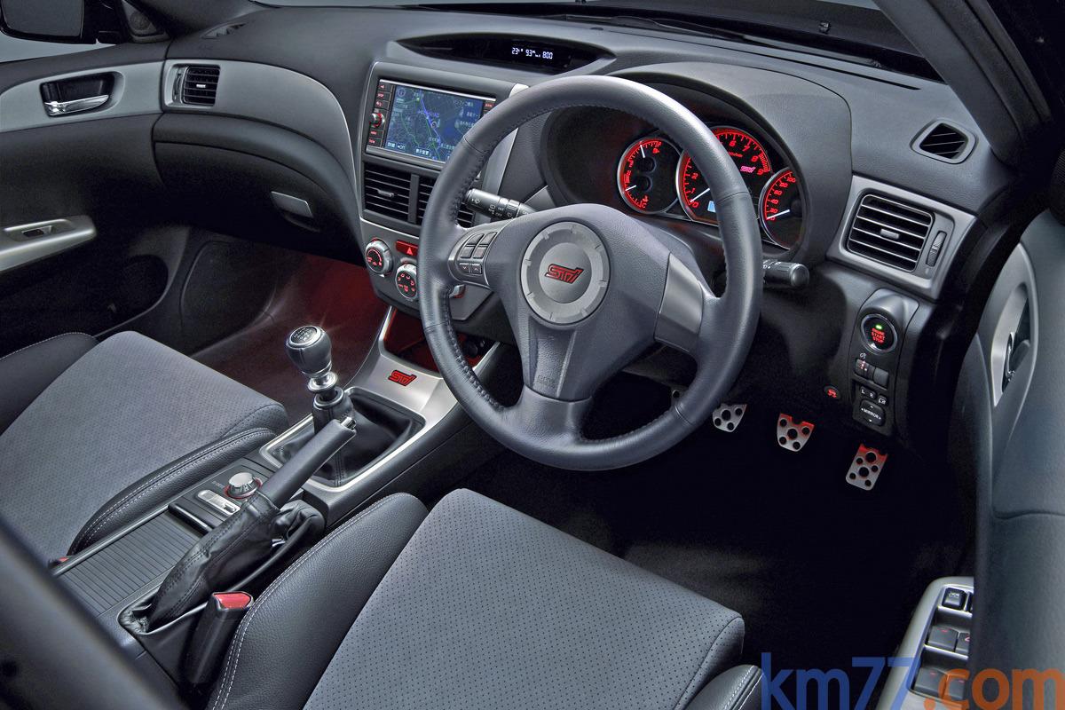 Fotos interiores 2008 subaru wrx sti 2008 2011 for Subaru interieur