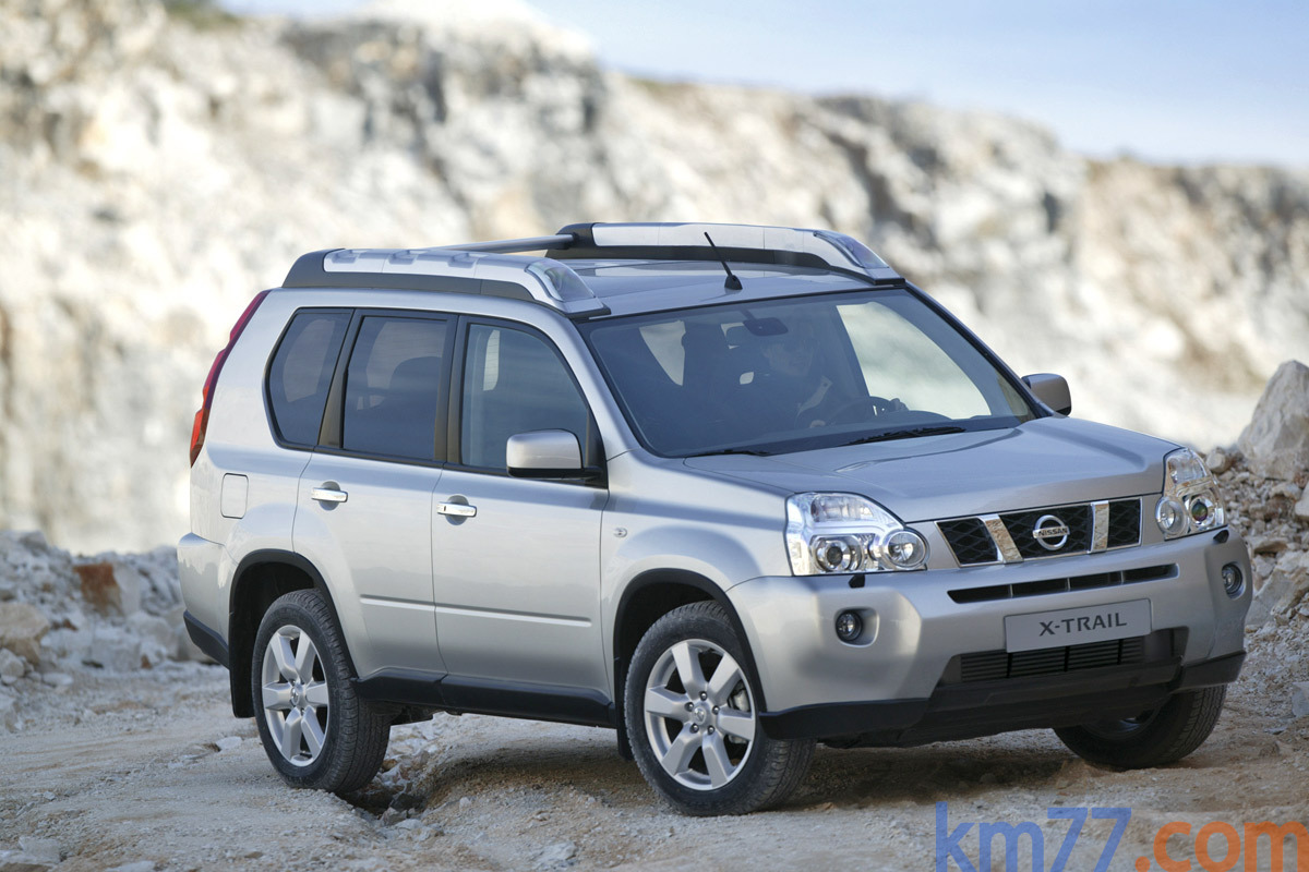 fotos exteriores nissan x trail 2007. Black Bedroom Furniture Sets. Home Design Ideas