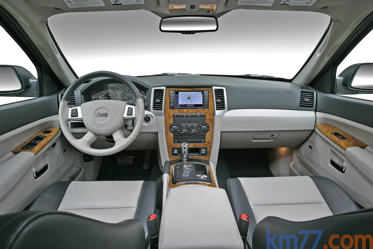 Fotos Interiores Jeep Grand Cherokee 2008