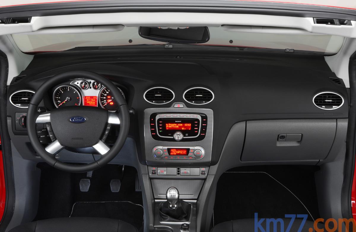 fotos interiores ford focus coup cabriolet 2008. Black Bedroom Furniture Sets. Home Design Ideas
