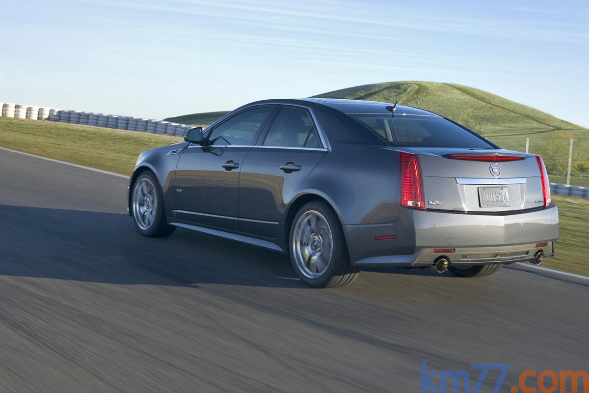 Fotos Exteriores Cts V Cadillac Cts Sedan Cts V 2008