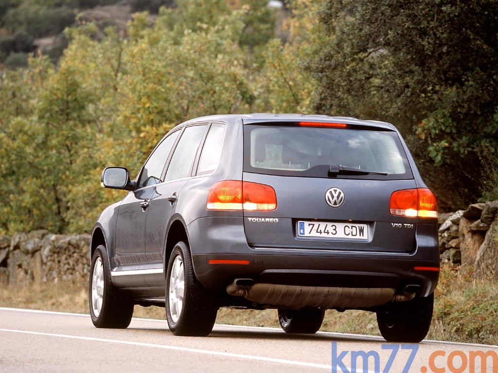 fotos exteriores volkswagen touareg  tdi   cv tiptronic   kmcom