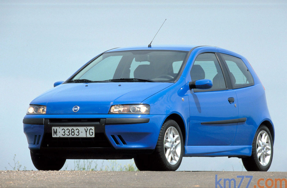 Fiat Punto 1 2 3p 2001 2002 Precio Y Ficha Técnica Km77 Com