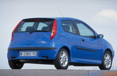 Fiat Punto Hgt 2001 2002 Precio Y Ficha Técnica Km77 Com