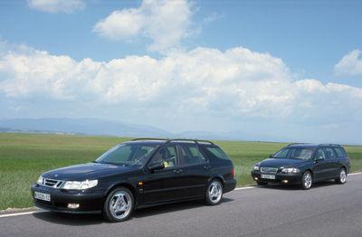 Un vistazo al pasado | Comparativa: Saab 9-5 2.3 SW y Volvo V70 T5 - Foto