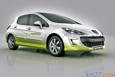 Peugeot 308 Hybride Prototipo 2007 Informacion General Km77 Com