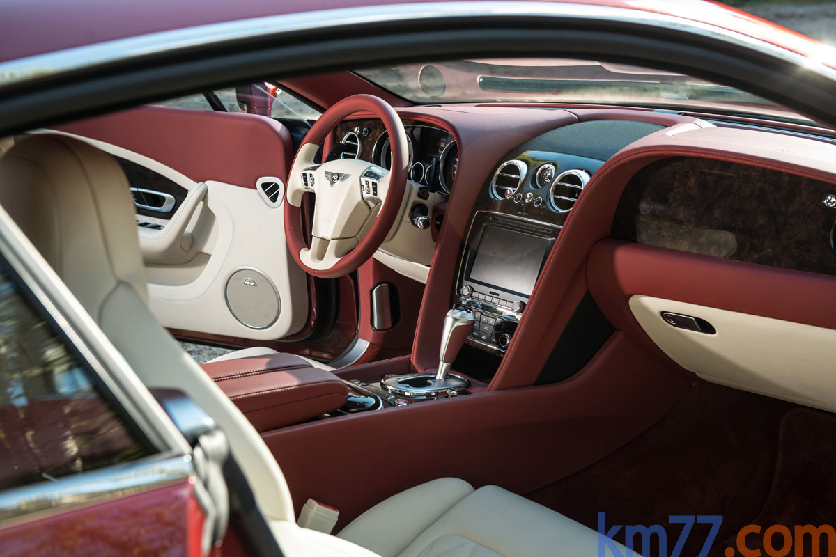 fotos interiores - bentley continental gt coup u00e9 speed  2011