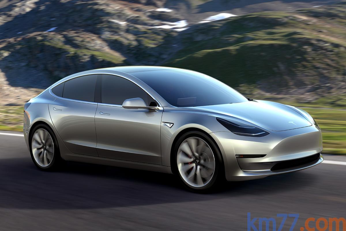 Ver mas info sobre el modelo Tesla Model 3