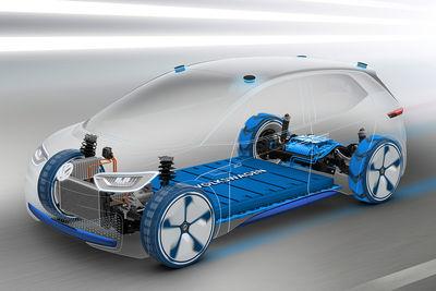 Plataforma MEB de Volkswagen - Foto