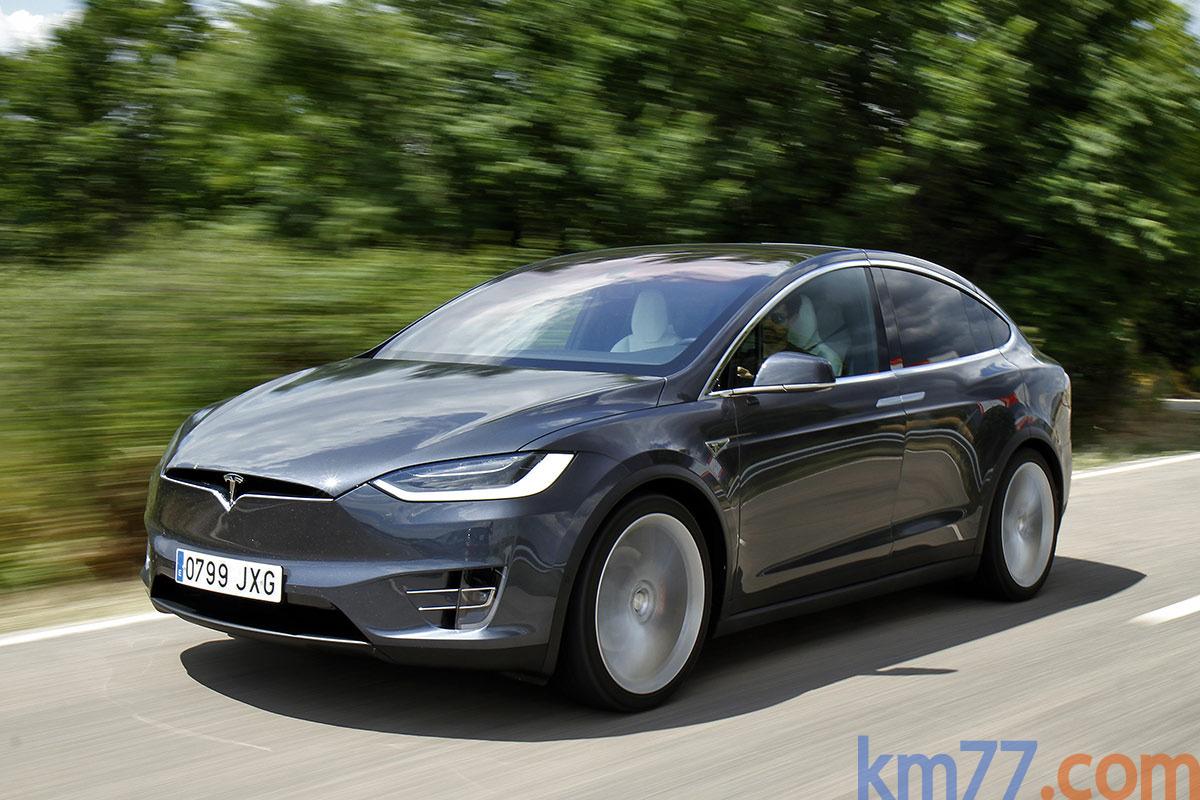 Fotos Exteriores Tesla Model X 2016
