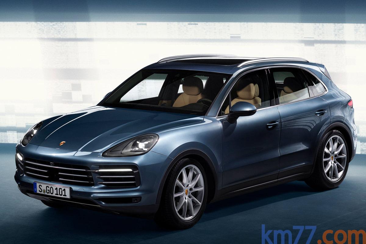 Ver mas info sobre el modelo Porsche Cayenne