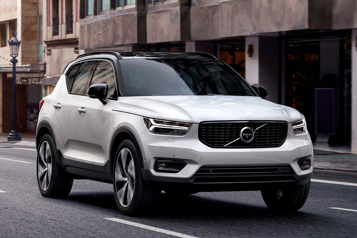 fotos exteriores volvo xc40 2018. Black Bedroom Furniture Sets. Home Design Ideas