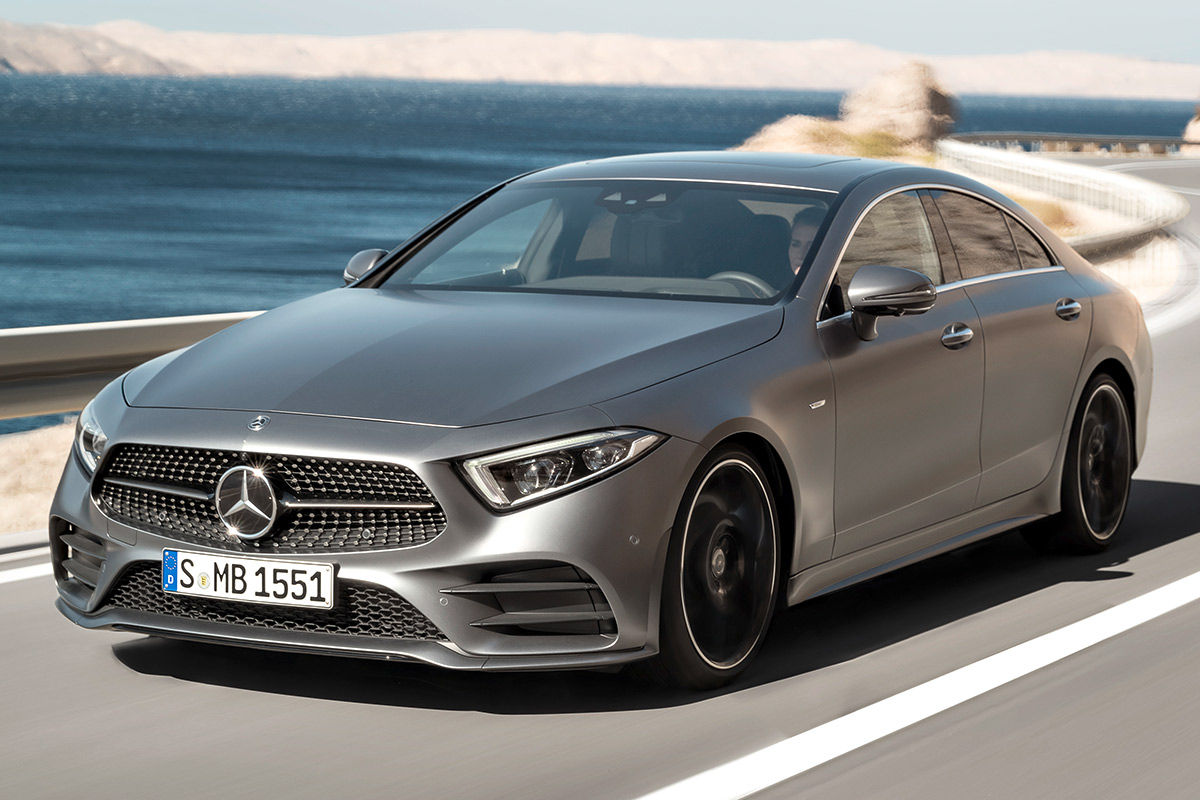 Fotos exteriores mercedes benz cls 2018 informaci n for Mercedes benz trade in