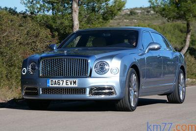 Bentley Mulsanne EWB (2016)   Prueba - Foto