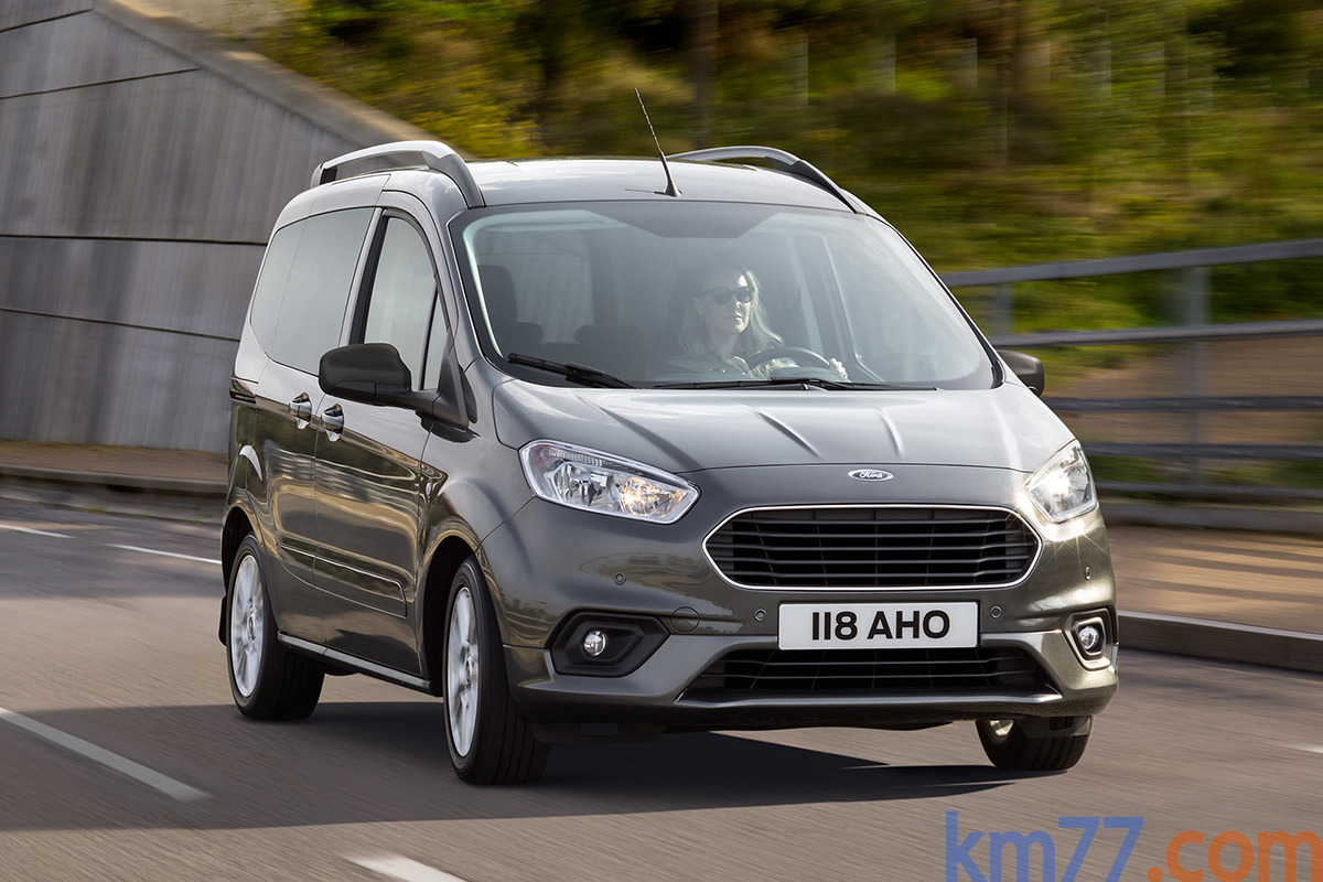 Tourneo Courier 2018 >> Ford Tourneo Courier (2018) | Información general - km77.com
