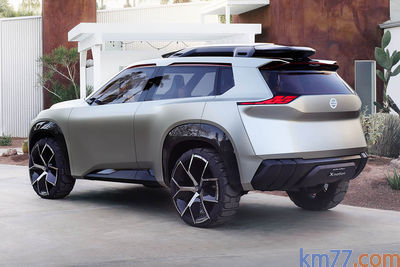 Nissan Xmotion concept (prototipo) - Foto