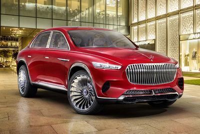 Mercedes-Benz Vision Mercedes-Maybach Ultimate Luxury (prototipo) - Foto