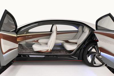 Volkswagen I.D. VIZZION (prototipo) - Foto