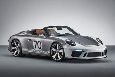 Porsche 911 Speedster Concept (prototipo) - Foto