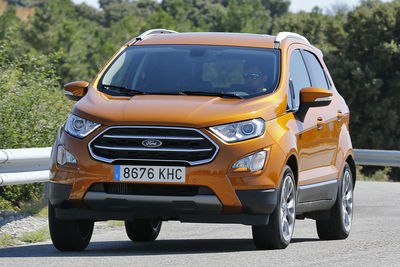 Ford EcoSport 1.0 EcoBoost 140 CV | Prueba - Foto