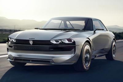 Peugeot e-LEGEND Concept (prototipo) - Foto