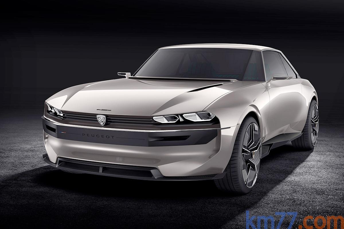 Fotos Exteriores E Interiores Peugeot E Legend Concept Km77 Com