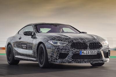 BMW M8 Coupé (2019) - Foto