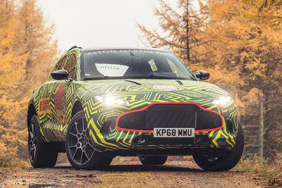 Aston Martin DBX (2020) - Foto