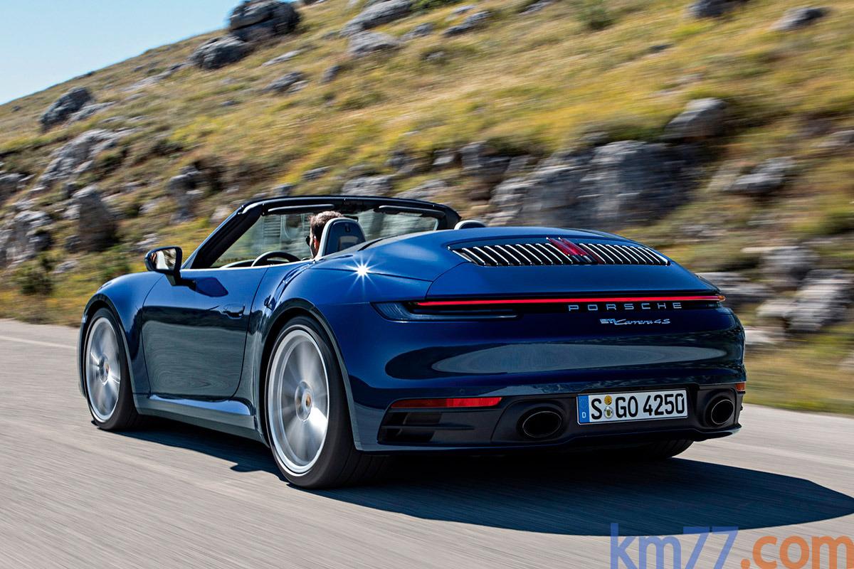 f2ca60e3e2b45 Porsche 911 Carrera S Cabriolet (2019)   Precio y ficha técnica. Datos  técnicos · Equipamiento · foto