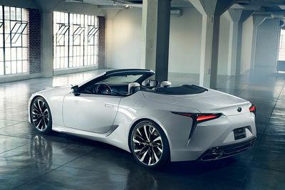 Lexus LC Convertible Concept (prototipo) - Foto