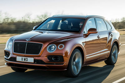Bentley Bentayga Speed (2019) - Foto