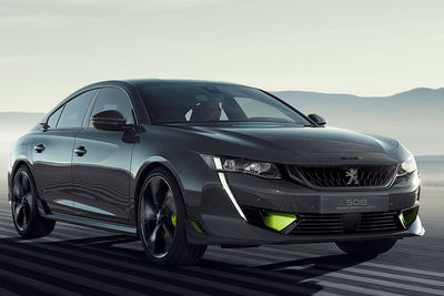 Peugeot Concept 508 PEUGEOT SPORT ENGINEERED - Foto