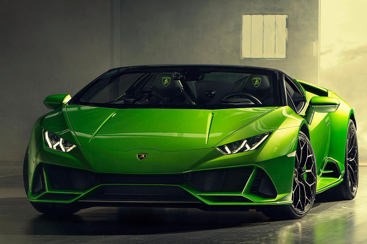 Lamborghini Huracan Evo Spyder 2019 Informacion General