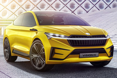 Škoda Vision iV (prototipo) - Foto