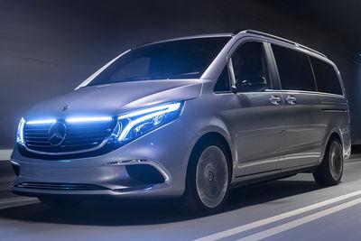 Mercedes-Benz Concept EQV (prototipo) - Foto