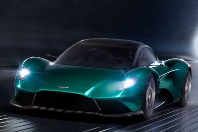 Aston Martin Vanquish Vision Concept (prototipo) - Foto