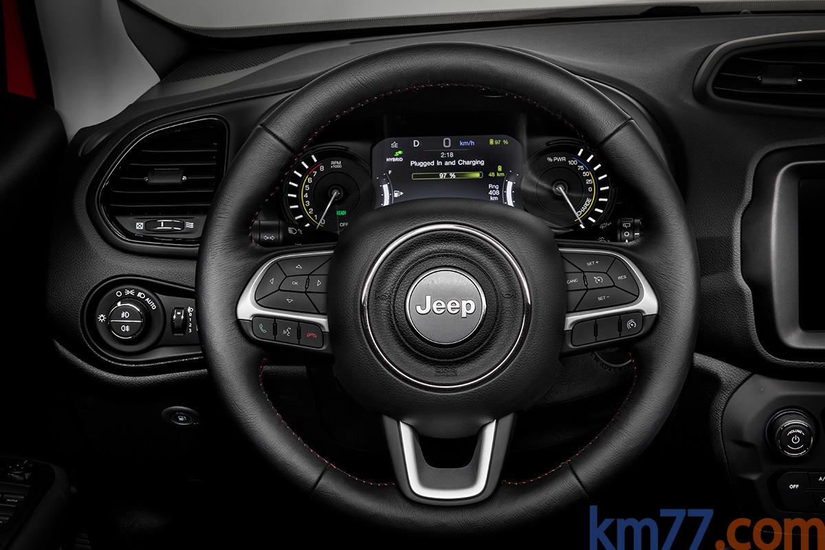 Fotos Interiores - Jeep Renegade PHEV (2019) - km77.com